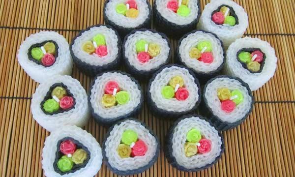 beeswax sushi