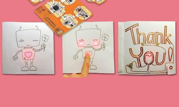 High tech paper crafts
