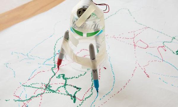 Scribble-Bots
