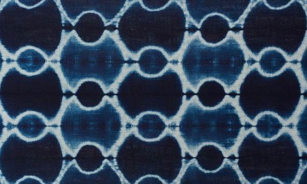Shibori-Inspired Indigo Dye