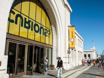 Exterior of Exploratorium