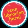 Teen Librarian Here! sticker